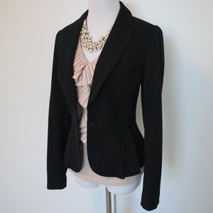 WHITE HOUSE BLACK MARKET Size 2 Suit Jacket Blazer